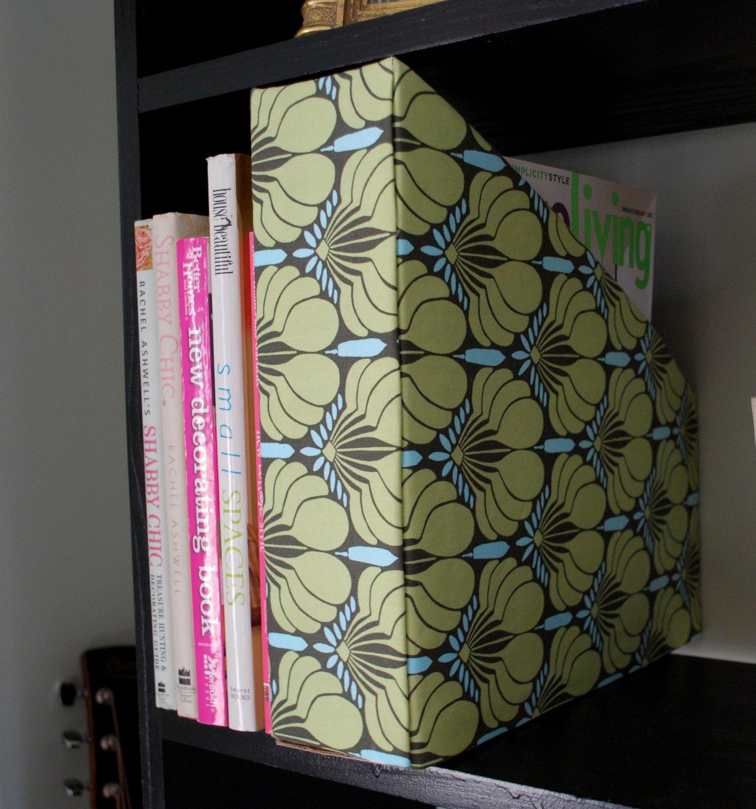 Recycled Magazine Holder   Pink & Polka Dot